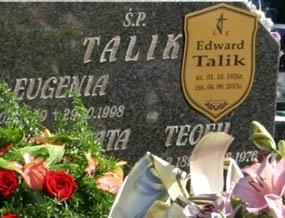 Pożegnanie śp. por. Edwarda Talika ps. Miecz